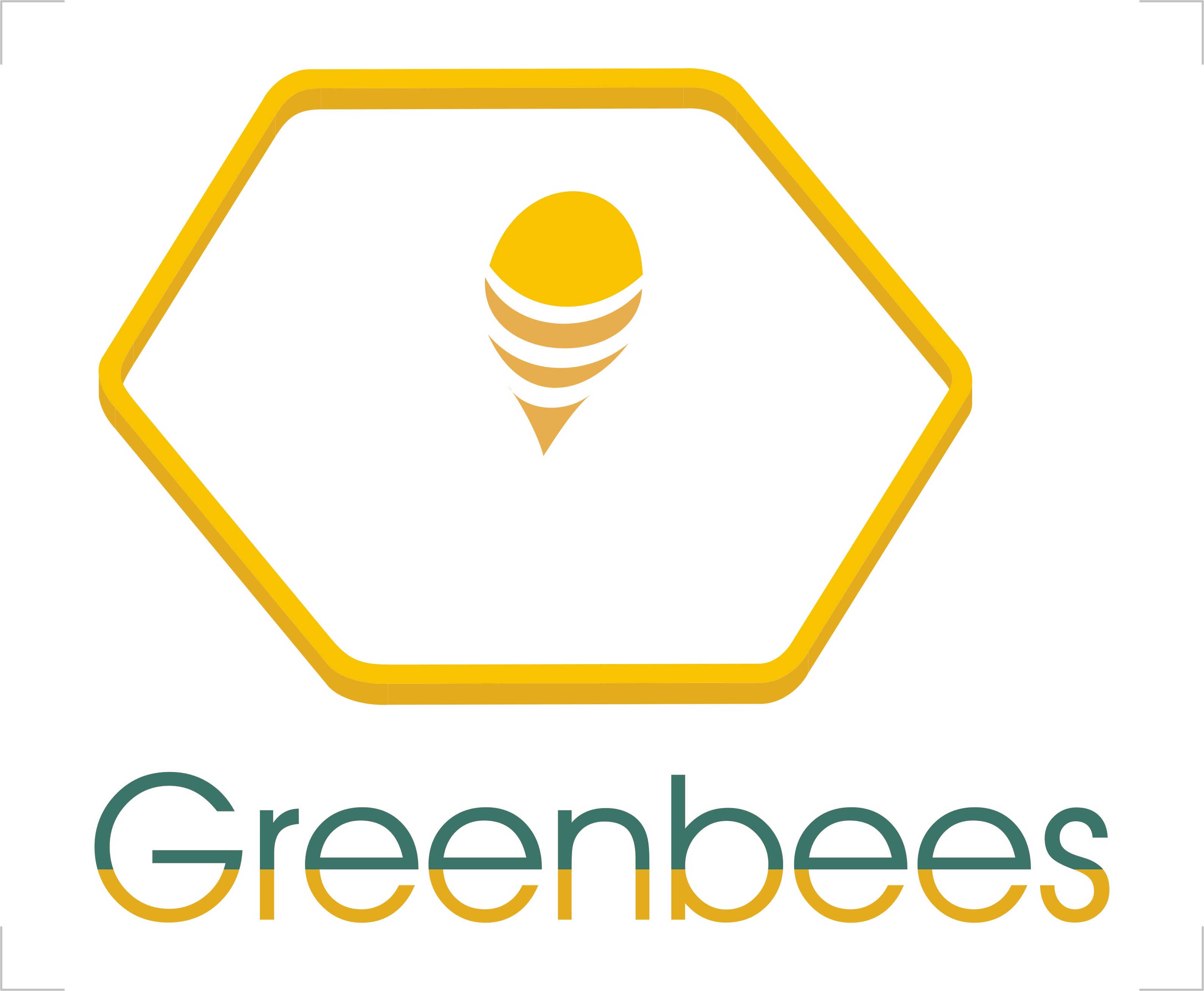 Logo Design by Crystal Desizns - Entry No. 145 in the Logo Design Contest Greenbees Logo Design.