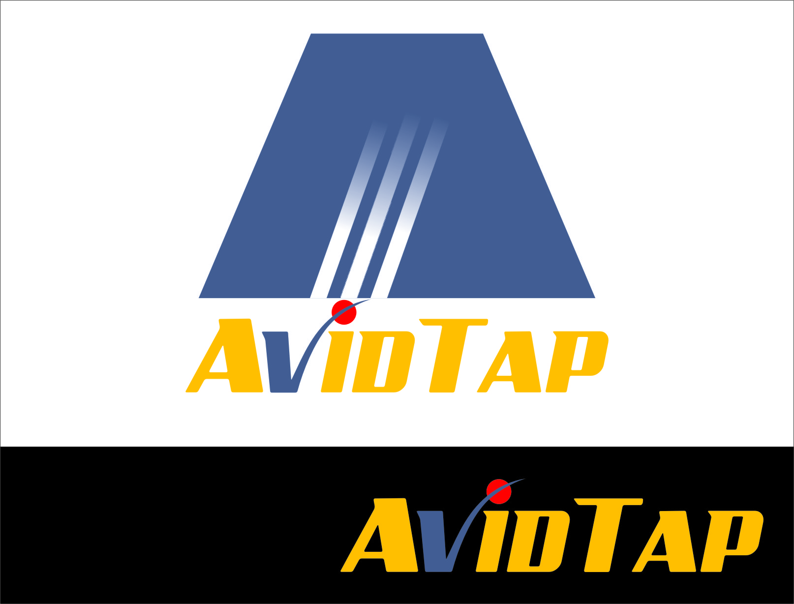 Logo Design by RasYa Muhammad Athaya - Entry No. 16 in the Logo Design Contest Imaginative Logo Design for AvidTap.