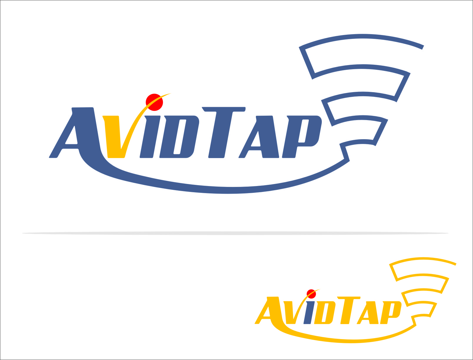 Logo Design by RasYa Muhammad Athaya - Entry No. 17 in the Logo Design Contest Imaginative Logo Design for AvidTap.