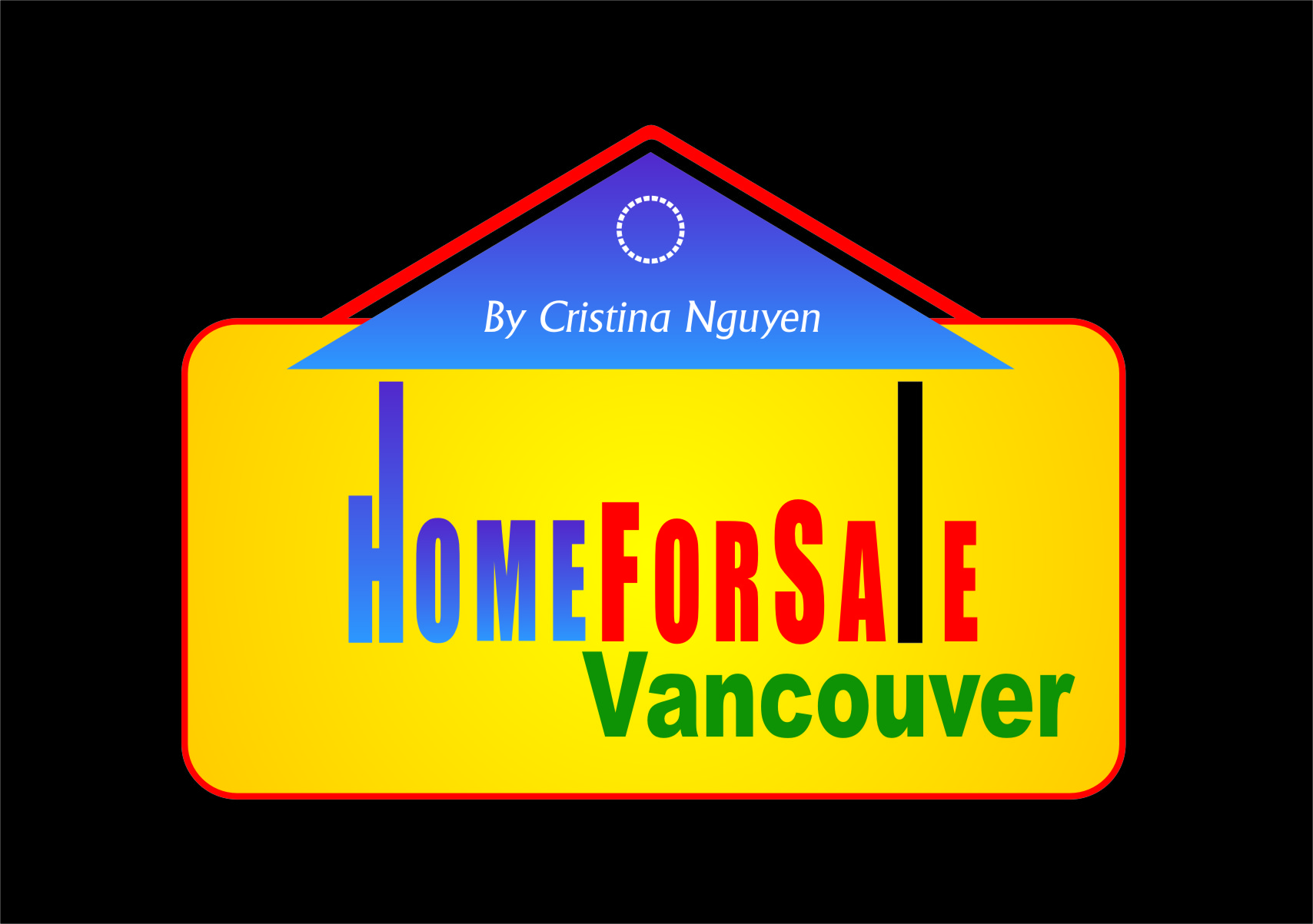 Logo Design by RoSyid Rono-Rene On Java - Entry No. 69 in the Logo Design Contest New Logo Design for HomeForSaleVancouver.