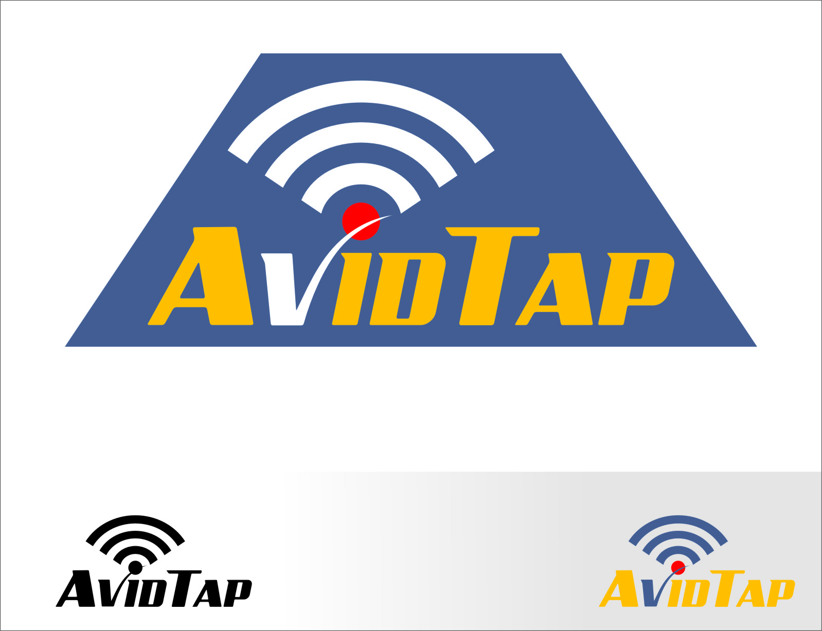 Logo Design by RasYa Muhammad Athaya - Entry No. 19 in the Logo Design Contest Imaginative Logo Design for AvidTap.