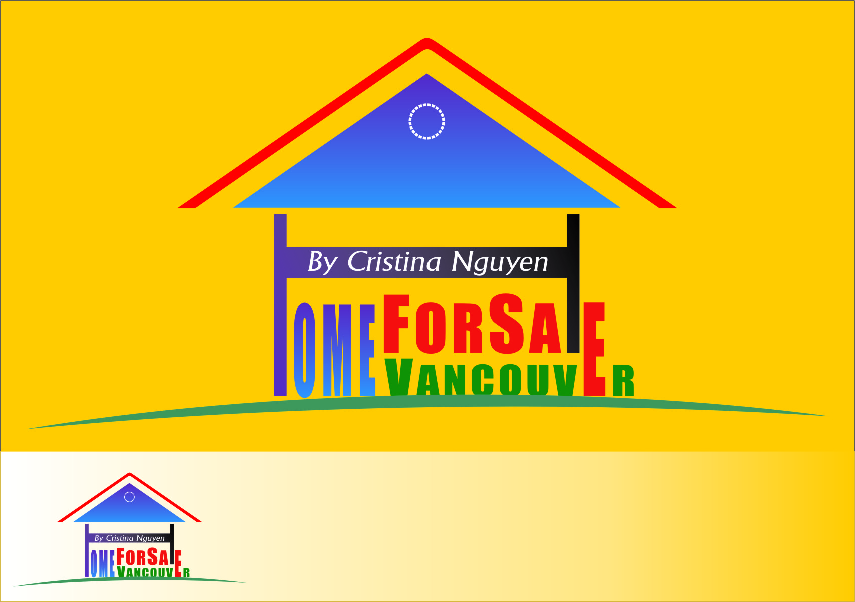 Logo Design by RasYa Muhammad Athaya - Entry No. 70 in the Logo Design Contest New Logo Design for HomeForSaleVancouver.