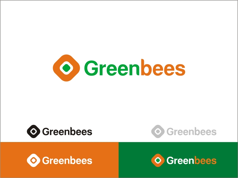 Logo Design by RED HORSE design studio - Entry No. 149 in the Logo Design Contest Greenbees Logo Design.