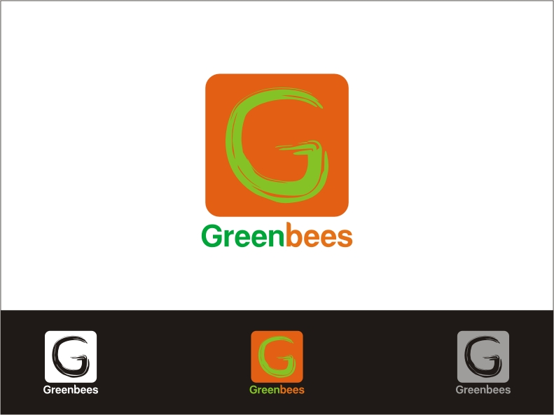 Logo Design by RED HORSE design studio - Entry No. 150 in the Logo Design Contest Greenbees Logo Design.