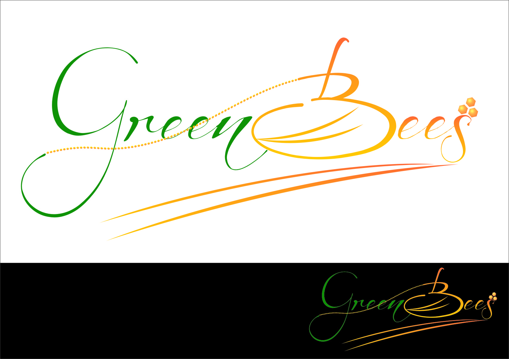 Logo Design by RasYa Muhammad Athaya - Entry No. 153 in the Logo Design Contest Greenbees Logo Design.