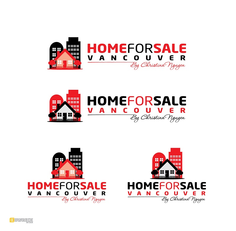 Logo Design by kowreck - Entry No. 74 in the Logo Design Contest New Logo Design for HomeForSaleVancouver.