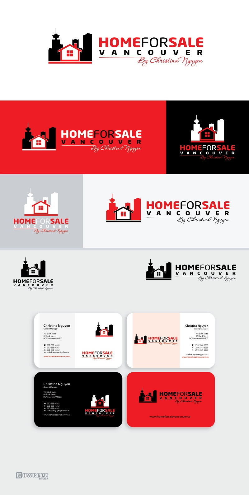 Logo Design by kowreck - Entry No. 75 in the Logo Design Contest New Logo Design for HomeForSaleVancouver.