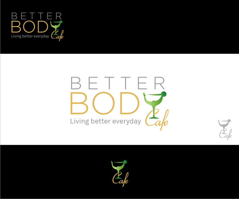 Logo Design by graphicleaf - Entry No. 57 in the Logo Design Contest New Logo Design for Better Body Cafe.