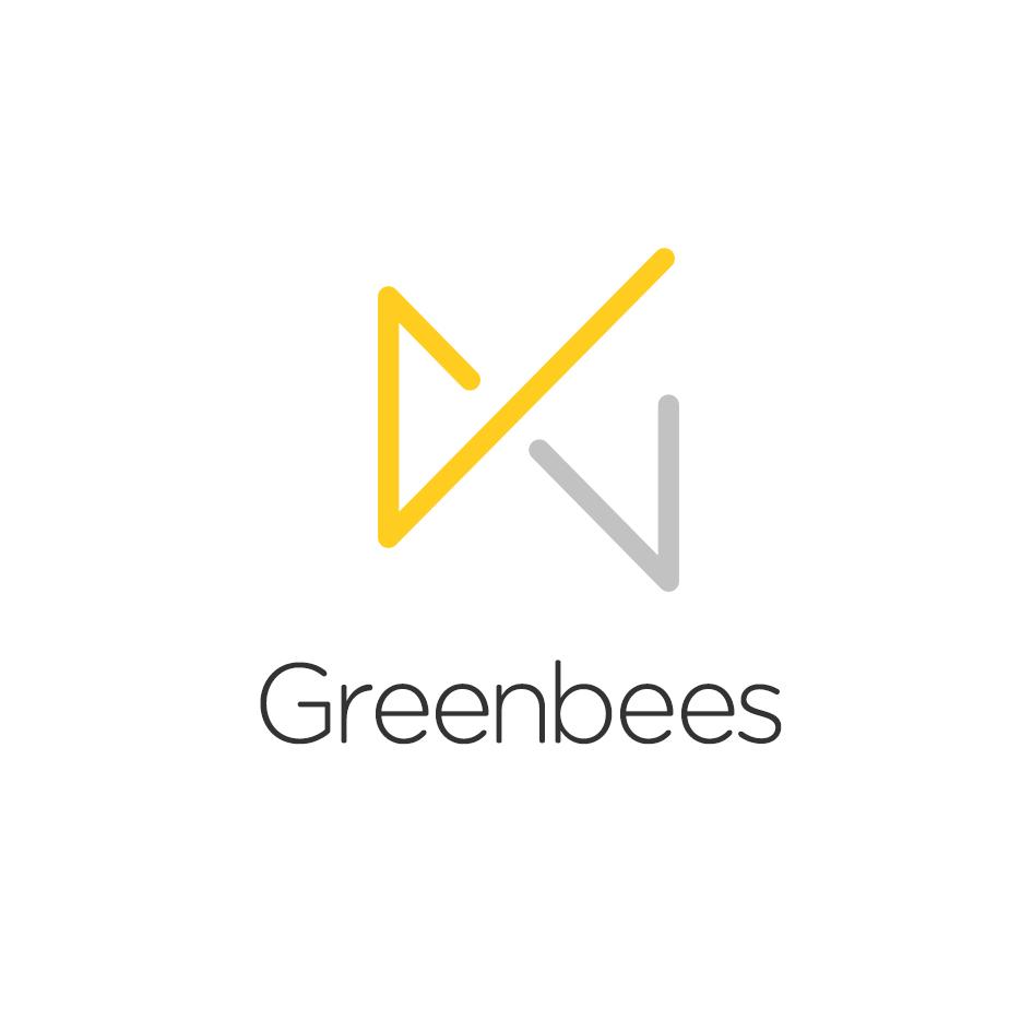Logo Design by MikeKondrat - Entry No. 160 in the Logo Design Contest Greenbees Logo Design.