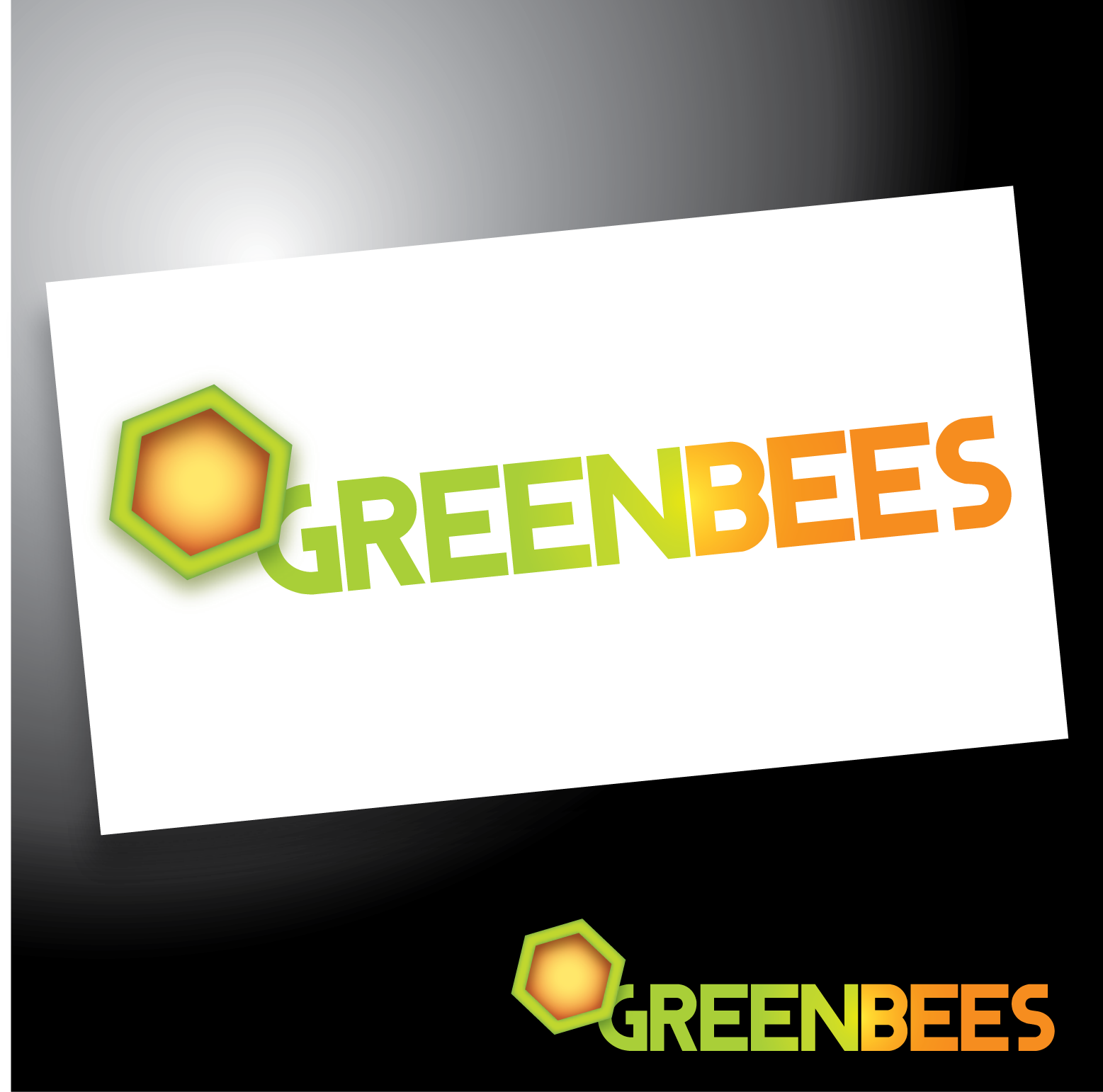 Logo Design by Teresa Abney - Entry No. 163 in the Logo Design Contest Greenbees Logo Design.