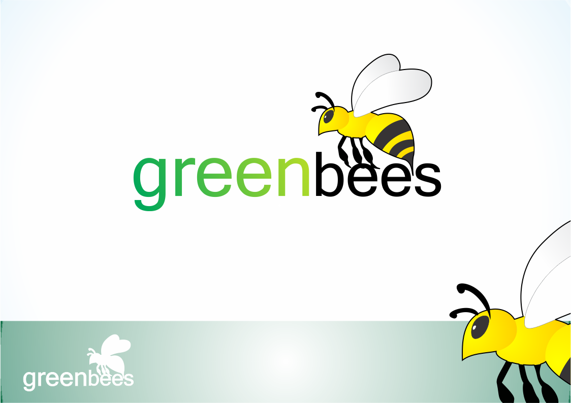 Logo Design by Private User - Entry No. 165 in the Logo Design Contest Greenbees Logo Design.