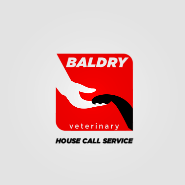 Logo Design by Private User - Entry No. 66 in the Logo Design Contest Captivating Logo Design for Baldry Veterinary House Call Service.