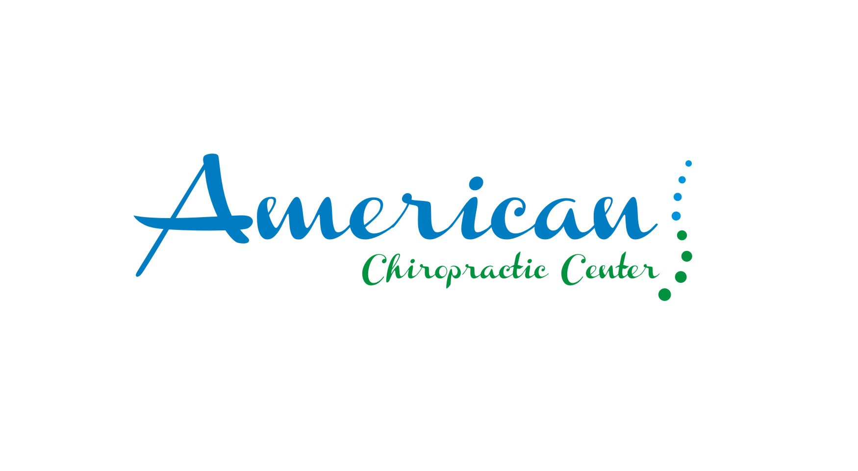 Logo Design by Crystal Desizns - Entry No. 234 in the Logo Design Contest Logo Design for American Chiropractic Center.