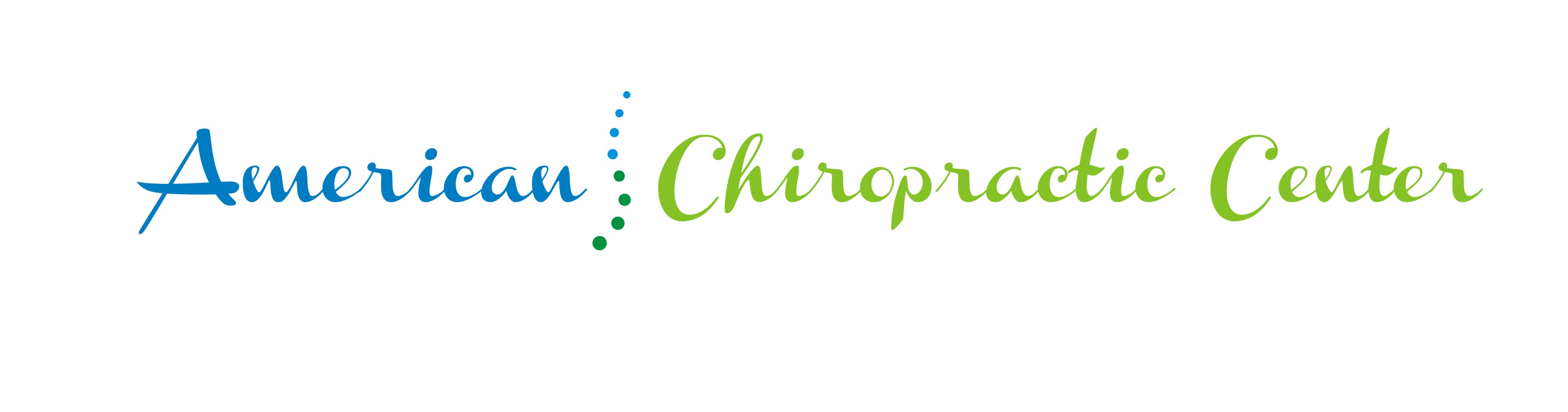 Logo Design by Crystal Desizns - Entry No. 236 in the Logo Design Contest Logo Design for American Chiropractic Center.