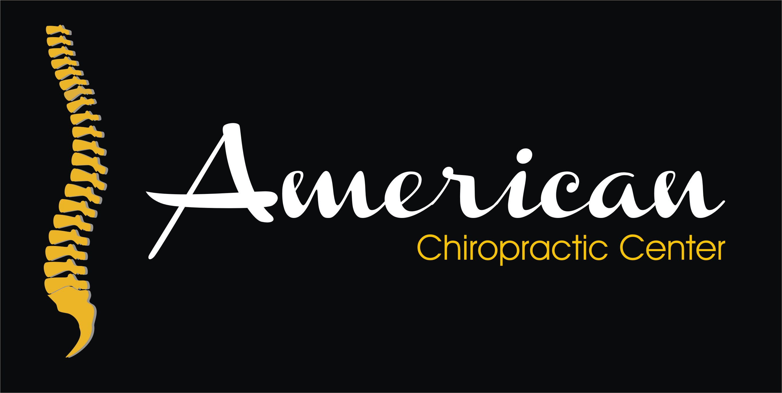 Logo Design by Crystal Desizns - Entry No. 238 in the Logo Design Contest Logo Design for American Chiropractic Center.