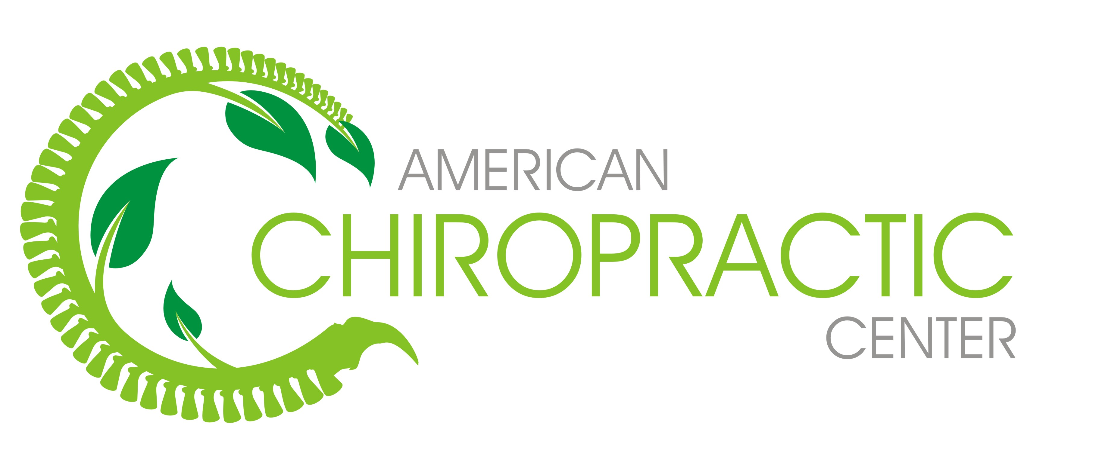 Logo Design by Crystal Desizns - Entry No. 240 in the Logo Design Contest Logo Design for American Chiropractic Center.