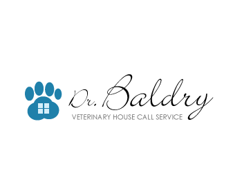 Logo Design by fabricapixel - Entry No. 78 in the Logo Design Contest Captivating Logo Design for Baldry Veterinary House Call Service.