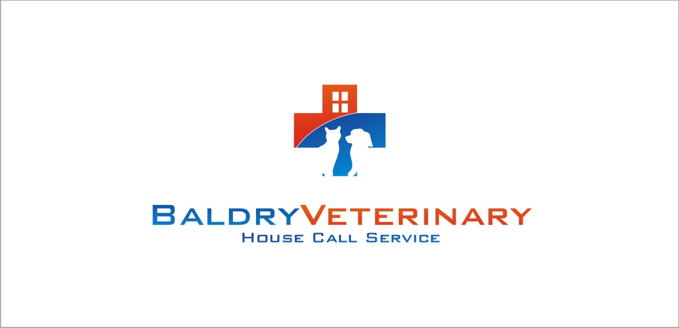 Logo Design by jalal - Entry No. 79 in the Logo Design Contest Captivating Logo Design for Baldry Veterinary House Call Service.