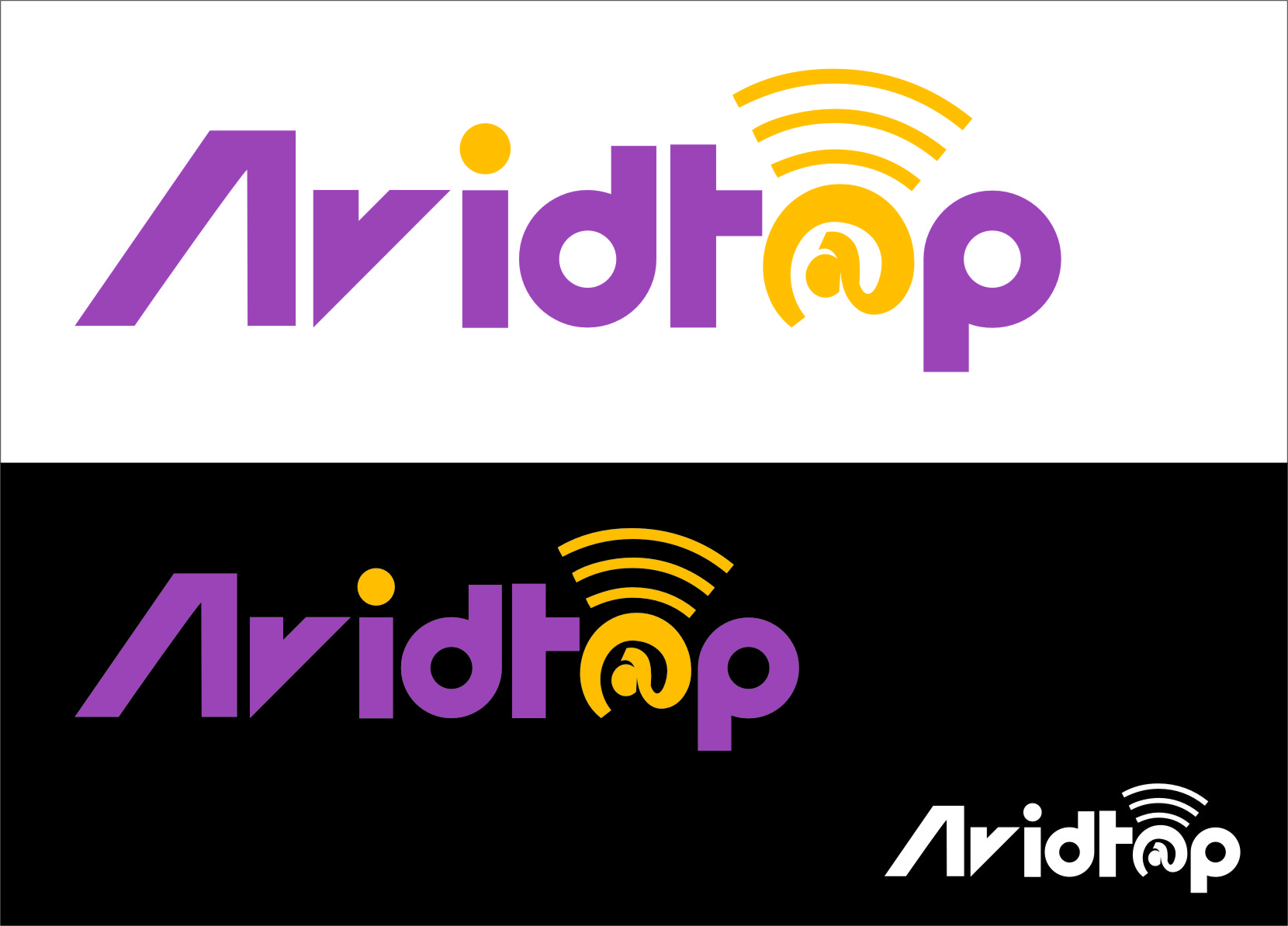 Logo Design by Ngepet_art - Entry No. 33 in the Logo Design Contest Imaginative Logo Design for AvidTap.