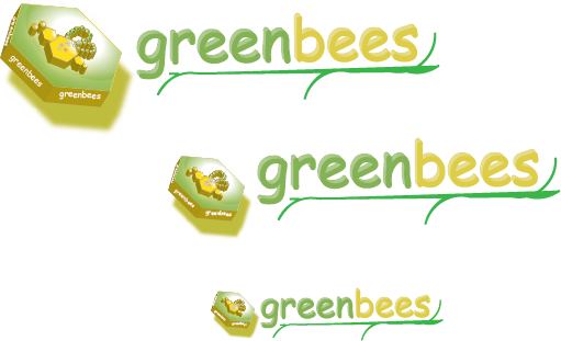 Logo Design by jecoaff - Entry No. 184 in the Logo Design Contest Greenbees Logo Design.