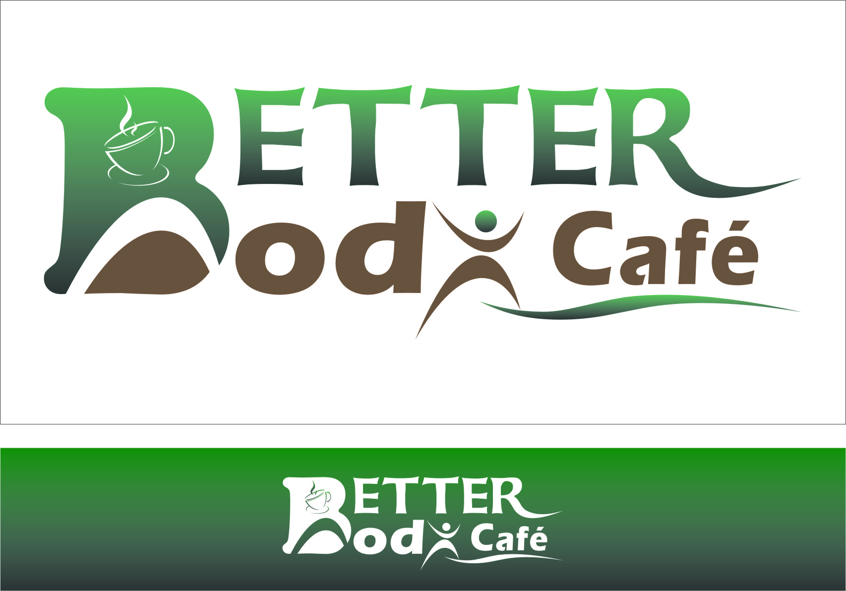 Logo Design by Ngepet_art - Entry No. 61 in the Logo Design Contest New Logo Design for Better Body Cafe.