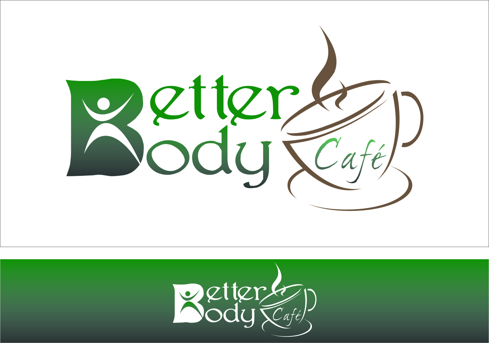 Logo Design by RoSyid Rono-Rene On Java - Entry No. 62 in the Logo Design Contest New Logo Design for Better Body Cafe.