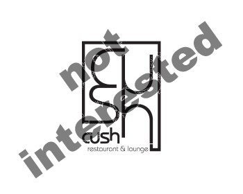 Logo Design by Number-Eight-Design - Entry No. 63 in the Logo Design Contest Cush Restaurant & Lounge Ltd..