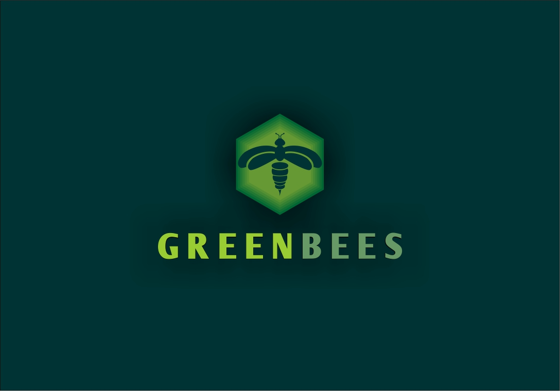 Logo Design by Fatih Ercan - Entry No. 193 in the Logo Design Contest Greenbees Logo Design.