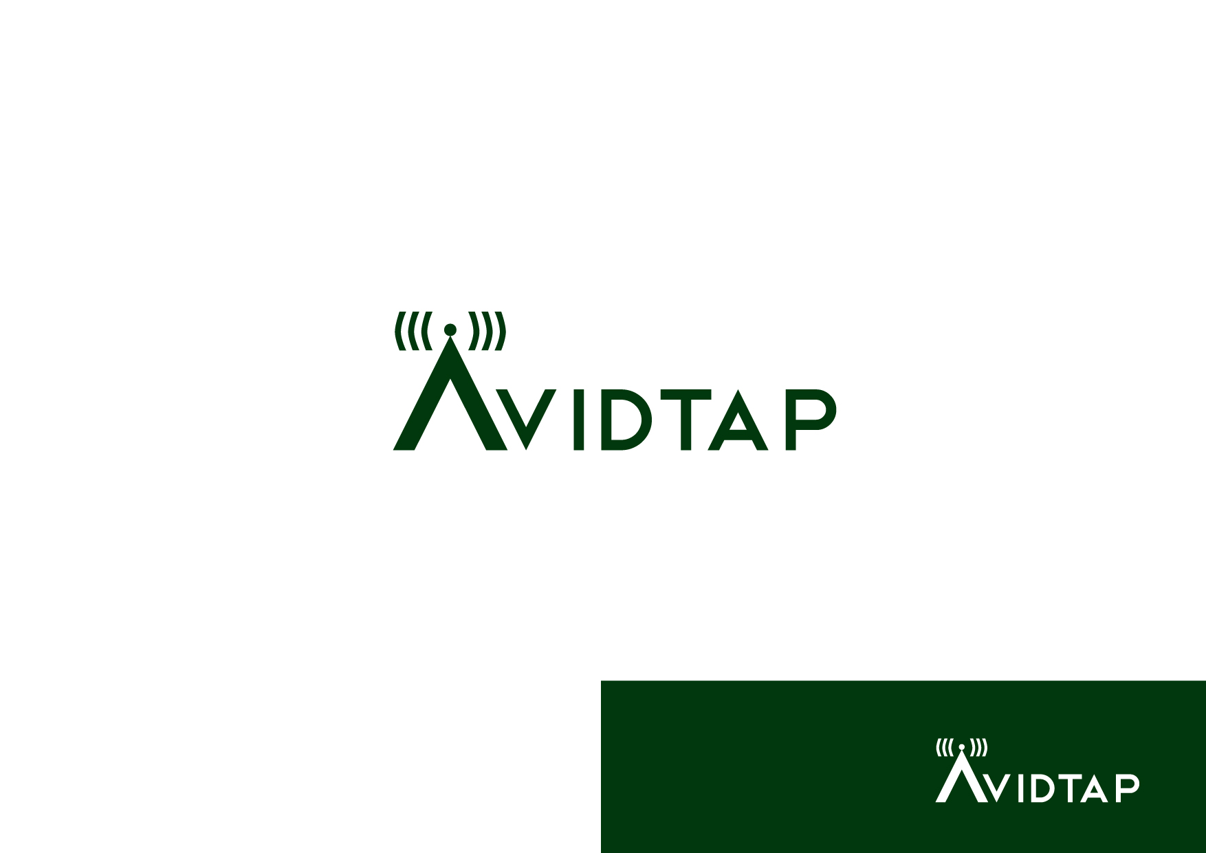 Logo Design by Osi Indra - Entry No. 36 in the Logo Design Contest Imaginative Logo Design for AvidTap.