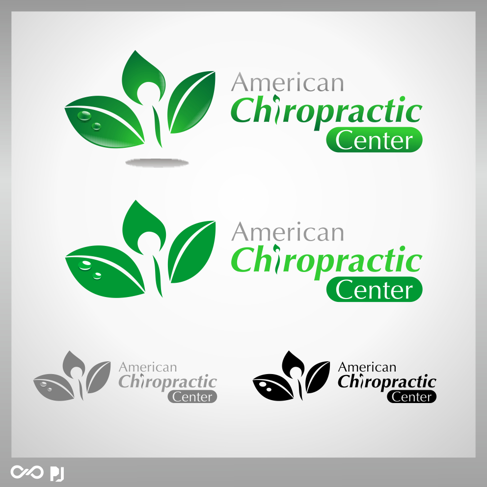 Logo Design by PJD - Entry No. 255 in the Logo Design Contest Logo Design for American Chiropractic Center.