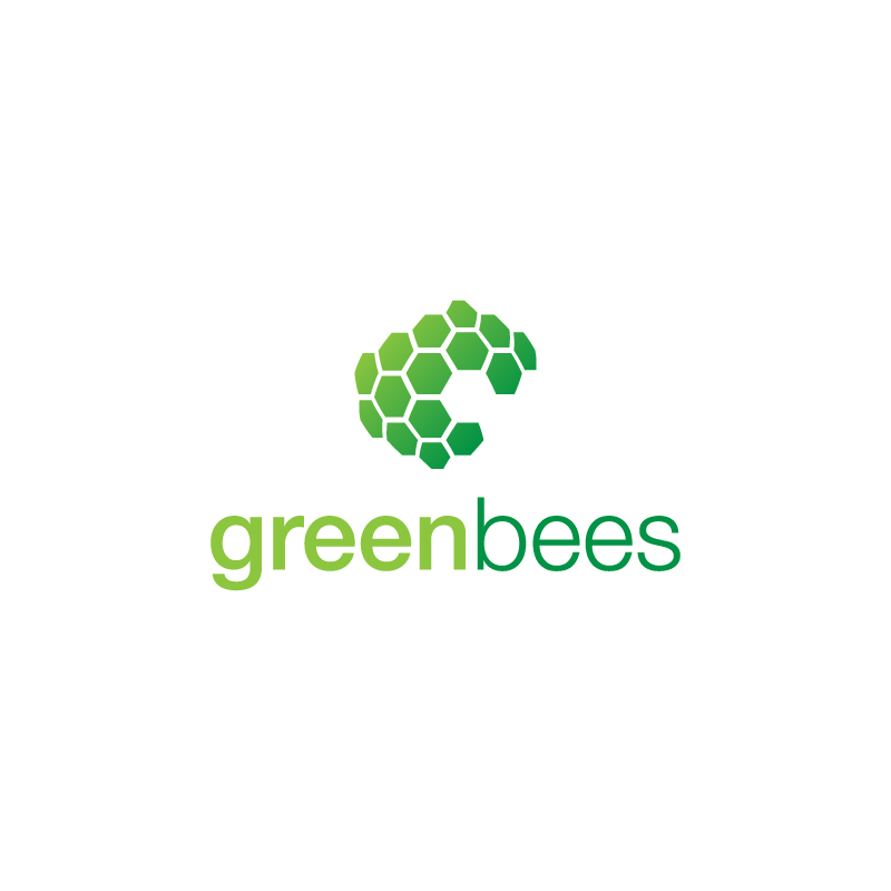 Logo Design by Subhodeep Roy - Entry No. 195 in the Logo Design Contest Greenbees Logo Design.