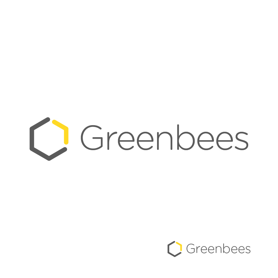 Logo Design by MikeKondrat - Entry No. 204 in the Logo Design Contest Greenbees Logo Design.