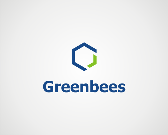 Logo Design by OriQ - Entry No. 207 in the Logo Design Contest Greenbees Logo Design.