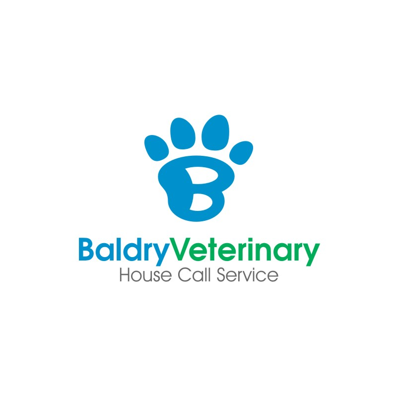 Logo Design by untung - Entry No. 99 in the Logo Design Contest Captivating Logo Design for Baldry Veterinary House Call Service.