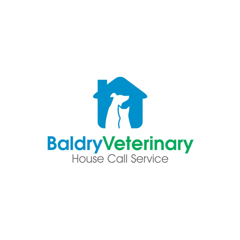 Logo Design by untung - Entry No. 103 in the Logo Design Contest Captivating Logo Design for Baldry Veterinary House Call Service.