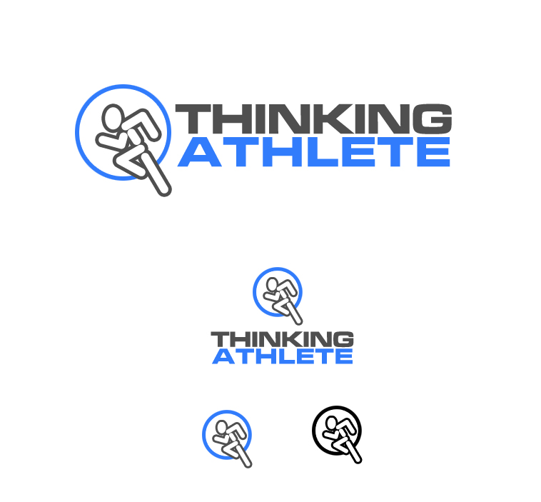 Logo Design by elmd - Entry No. 1 in the Logo Design Contest Thinking Athlete Logo Design.