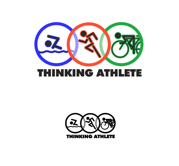 Logo Design by elmd - Entry No. 2 in the Logo Design Contest Thinking Athlete Logo Design.