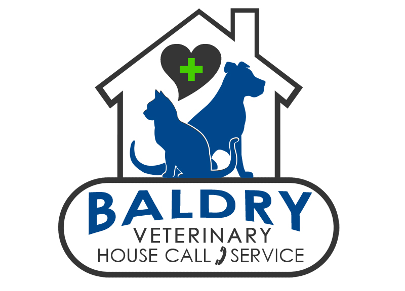 Logo Design by Private User - Entry No. 110 in the Logo Design Contest Captivating Logo Design for Baldry Veterinary House Call Service.