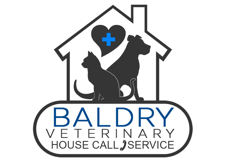 Logo Design by Private User - Entry No. 112 in the Logo Design Contest Captivating Logo Design for Baldry Veterinary House Call Service.