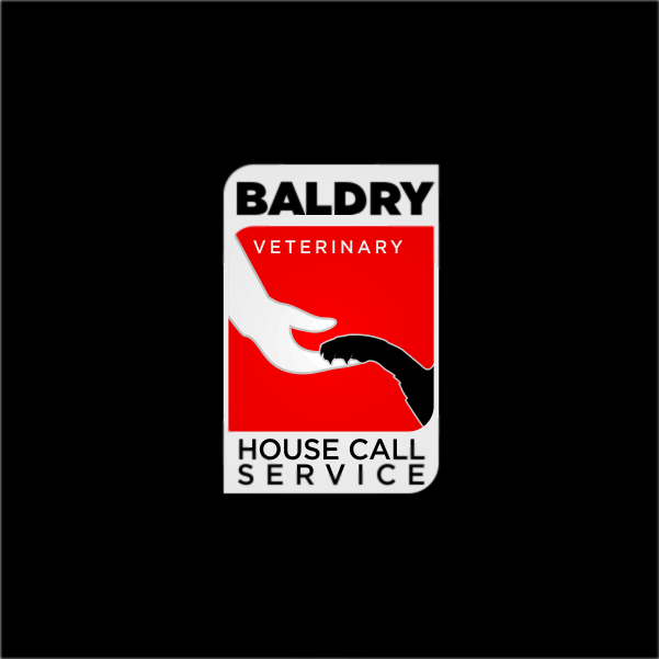 Logo Design by Private User - Entry No. 113 in the Logo Design Contest Captivating Logo Design for Baldry Veterinary House Call Service.