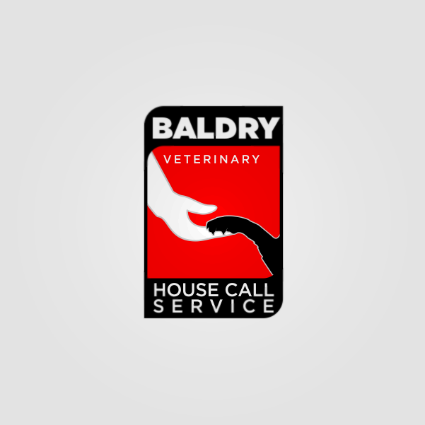 Logo Design by Private User - Entry No. 114 in the Logo Design Contest Captivating Logo Design for Baldry Veterinary House Call Service.