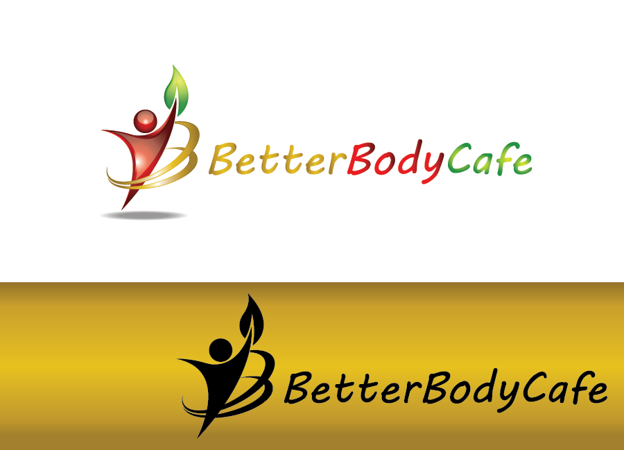 Logo Design by Private User - Entry No. 72 in the Logo Design Contest New Logo Design for Better Body Cafe.