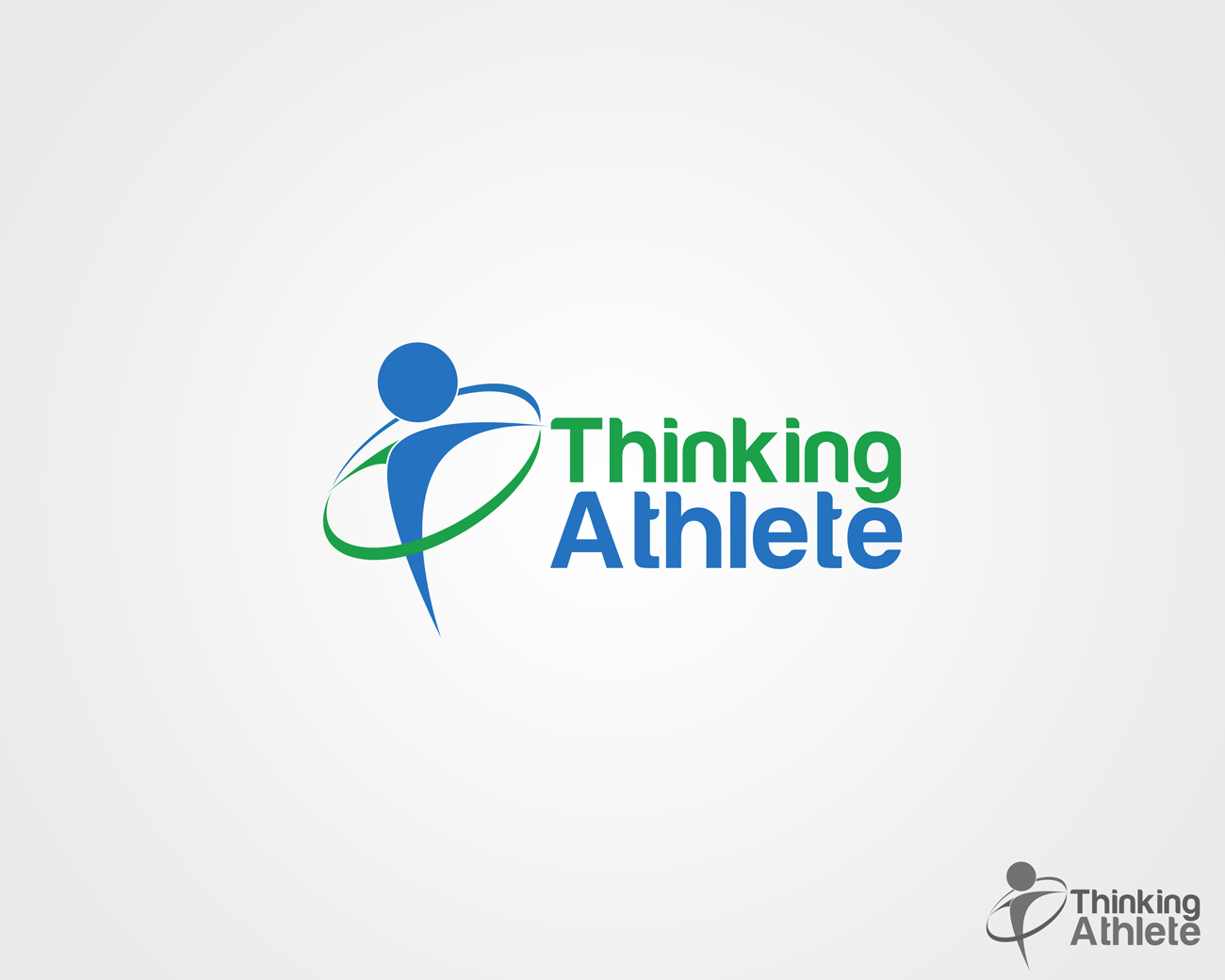 Logo Design by Qoaldjsk - Entry No. 5 in the Logo Design Contest Thinking Athlete Logo Design.