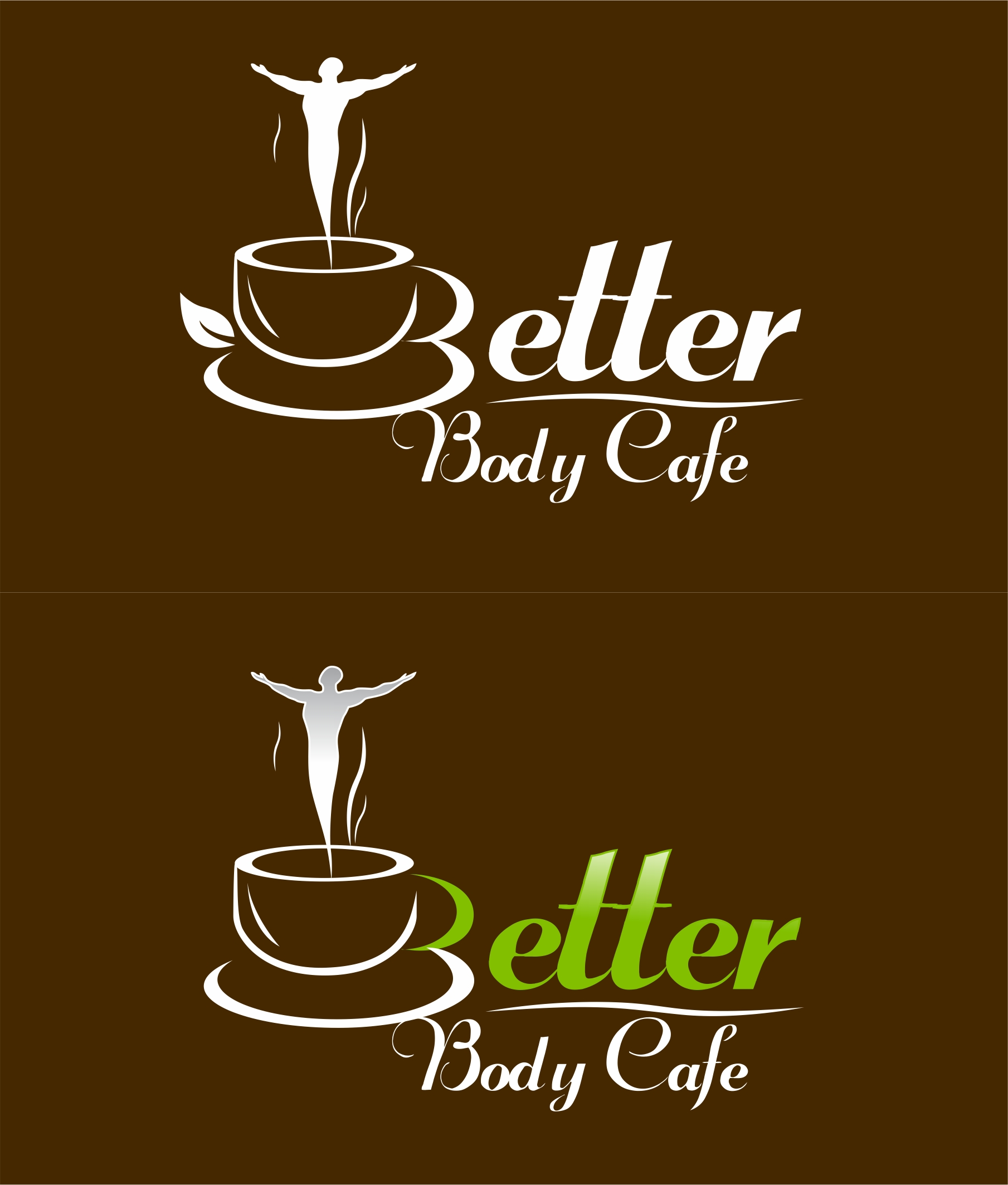 Logo Design by Karthi Keyan - Entry No. 75 in the Logo Design Contest New Logo Design for Better Body Cafe.