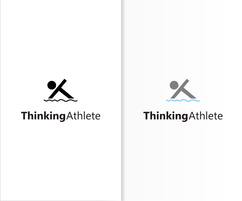 Logo Design by graphicleaf - Entry No. 7 in the Logo Design Contest Thinking Athlete Logo Design.