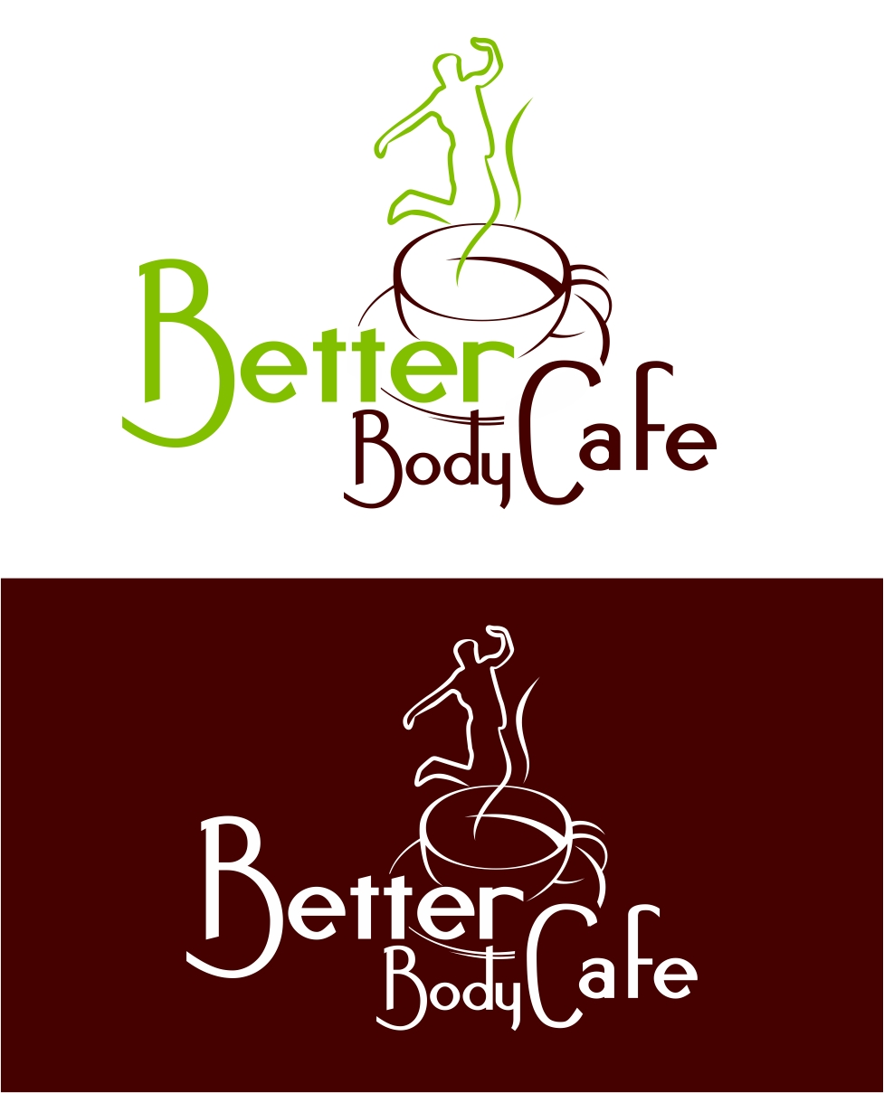 Logo Design by Karthi Keyan - Entry No. 78 in the Logo Design Contest New Logo Design for Better Body Cafe.