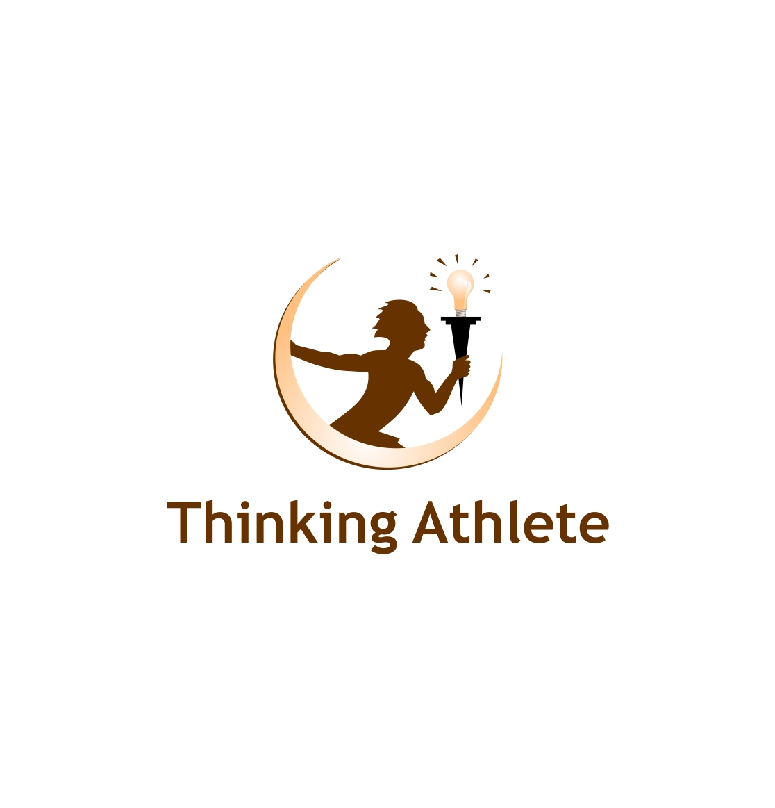 Logo Design by haidu - Entry No. 8 in the Logo Design Contest Thinking Athlete Logo Design.