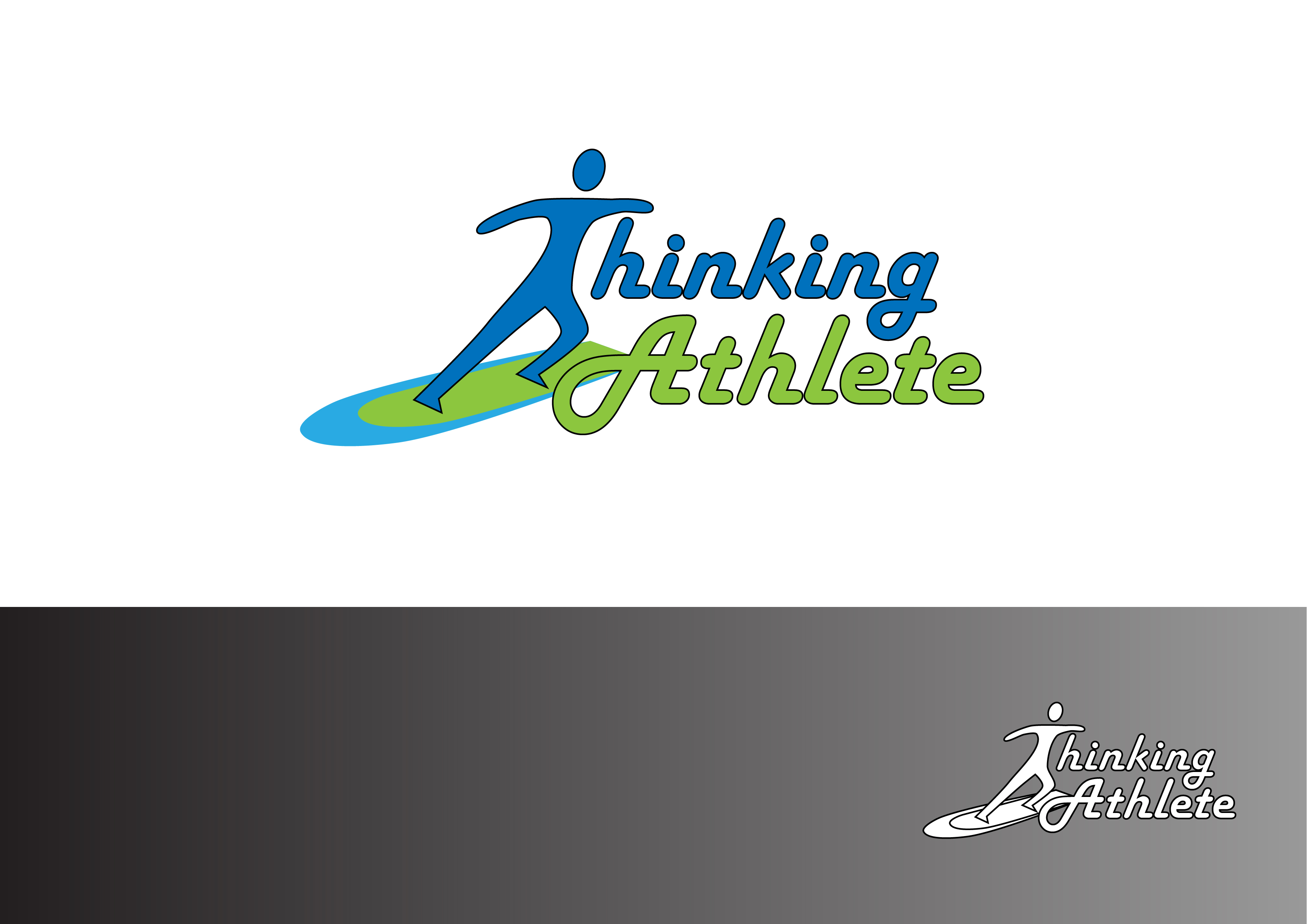 Logo Design by 3draw - Entry No. 9 in the Logo Design Contest Thinking Athlete Logo Design.