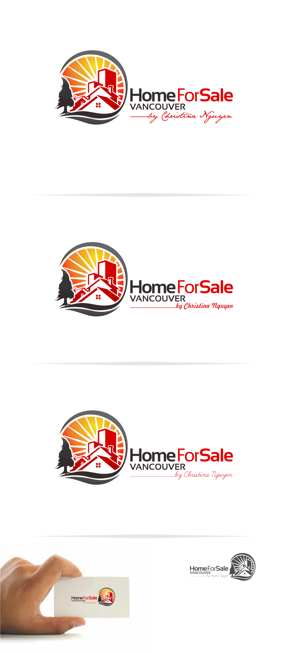 Logo Design by Mitchnick Sunardi - Entry No. 107 in the Logo Design Contest New Logo Design for HomeForSaleVancouver.