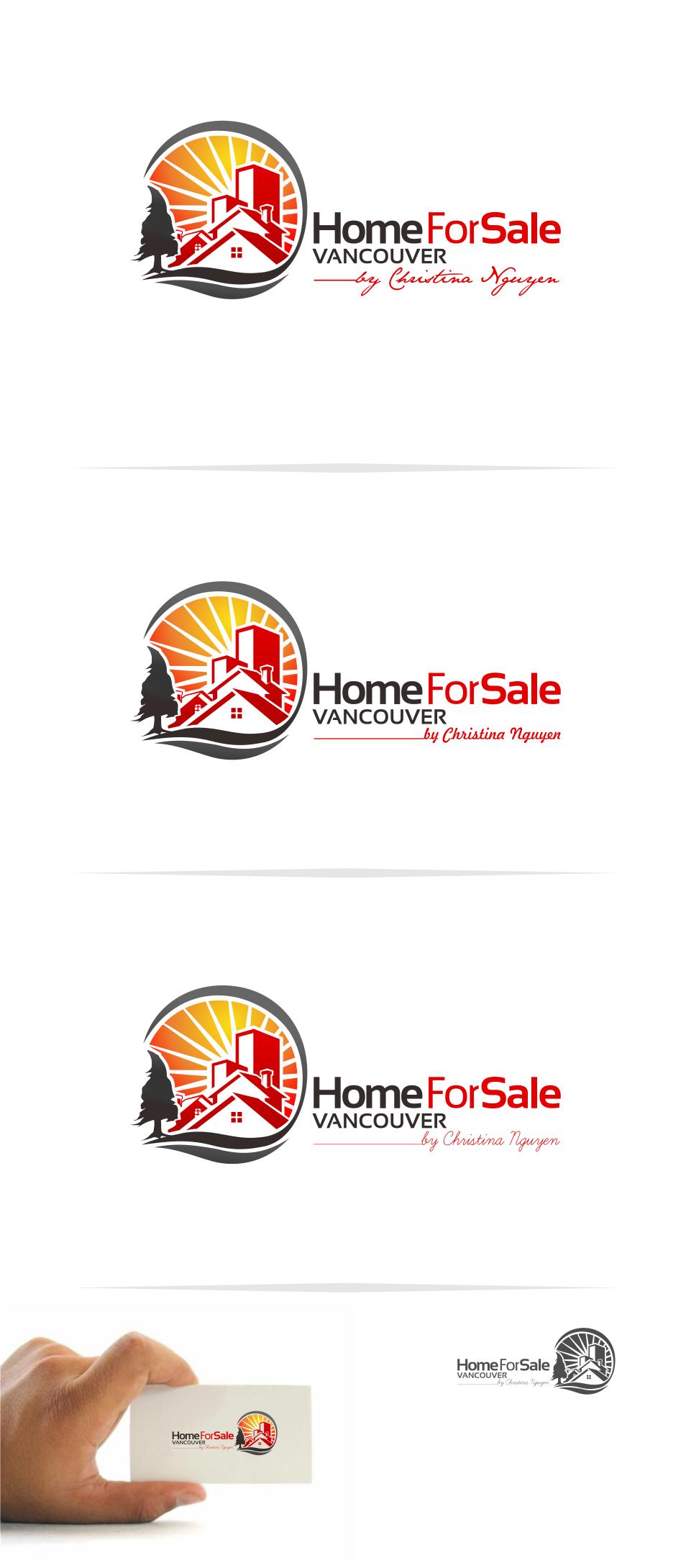 Logo Design by Mitchnick Sunardi - Entry No. 107 in the Logo Design Contest New Logo Design for HomeForSaleVancouver.